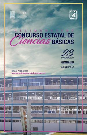 XIX Concurso Estatal de Ciencias Básicas