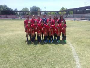 Deportes   El equipo femenil de fut-bol sigue volando alto